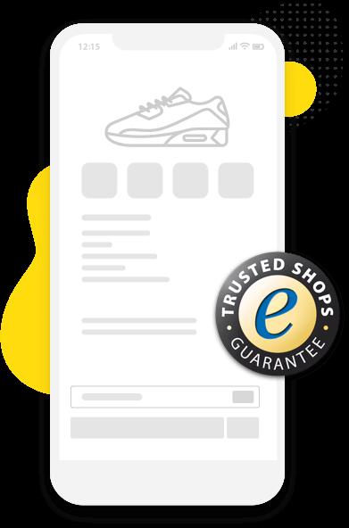 Sélection de magasins certifiés avec le Marque de Confiance